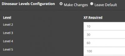 Modify Server Config: ARK - Survival Servers